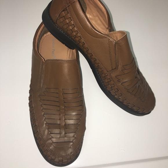 IRVINE PARK Other - IRVINE PARK Men's Brown Leather Size 9M Loafer